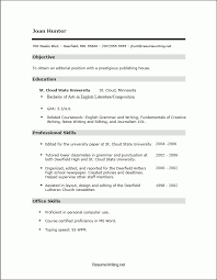 Cloud Computing Experience Resume No Job Experience Resume Example Resume Example And Free Resume