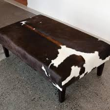 Cowhide Chairs And Ottomans Furniture Ottoman Cowhide And Cowhide Chairs And Ottomans Also