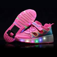 heelys light up shoes kids shoes with led lights children heelys roller shoes kids
