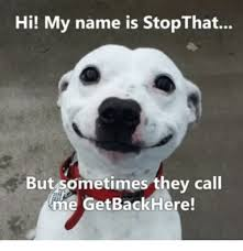 Hi My Name Is Meme - hi my name is stopthat but sometimes they call an name meme on me me