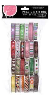 ribbon spools american crafts ribbon value pack 24 1 yard spools