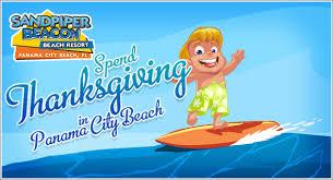 thanksgiving in panama city sandpiper beacon resort