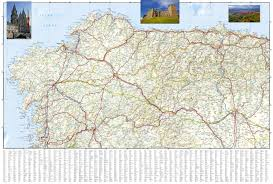 northern map northern spain national geographic adventure map national