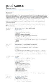 Software Qa Resume Samples by Tester Resume Samples Visualcv Resume Samples Database