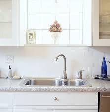 Easy To Clean Kitchen Backsplash Kitchen Cleaning Tips Clean Kitchen Sink