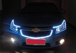 bicycle daytime running lights car styling 12v 48cm led drl daytime running light led car strips