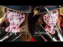 Krueger Halloween Costume Freddy Krueger Makeup Tutorial Latex Mess Drugstore
