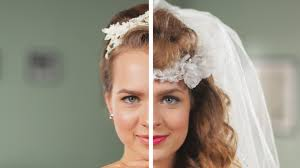 bridal hair for oval faces wedding hairstyles 1960s now youtube