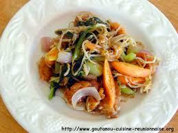 cuisine chinoise poisson shop suey de poisson par christian antou goutanou cuisine de l île