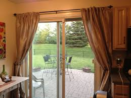 astonishing design patio door window treatment ideas featuring