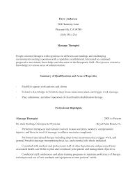 Sample Massage Therapist Resume by Massage Therapist Resume Samples Visualcv Resume Samples Database