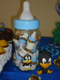 baby looney tunes baby shower decorations festa baby looney tunes cantinho do patolino made by me eu