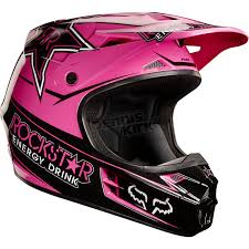 flat black motocross helmet pink rockstar fox racing helmet up north pinterest racing