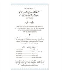 classic wedding programs wedding program template 61 free word pdf psd documents