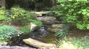Backyard Waterfall How To Design Backyard Waterfall Stream Baltimore Maryland