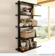 awesome wall mounted wood shelving inspirations interior decoration