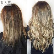 hair extensions az seamless color with beaded row hair extensions balayage