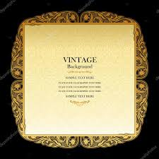 Beautiful Invitation Card Vintage Background Elegant Wedding Invitation Card Victorian