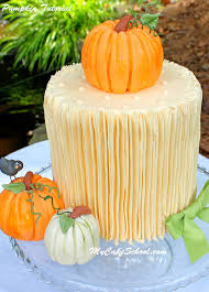 thanksgiving cake decorating ideas how to make a pumpkin cake topper free tutorial my cake