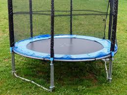 Best Backyard Trampolines Trampoline Nets Making Outdoor Play For Kids Safe Swingset