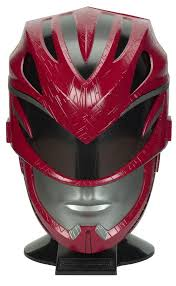 power rangers movie legacy helmet role play red ranger toys
