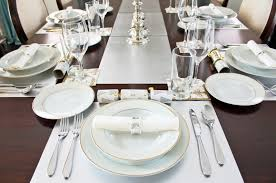 Table Setting by Table Setting Begin With The Setting For An Informal Dinner Or