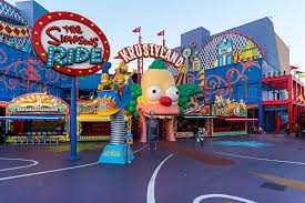picture studios the simpsons ride rides attractions universal studios