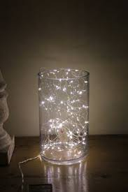 david tutera fairy lights mood lighting throw a tangle of fairy lights into a big glass