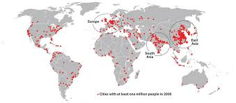 Population Density World Map by Introduction To The World