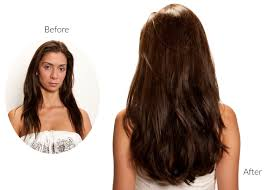 Before After Hair Extensions by Hair Extensions Before And After London Secret Extensions