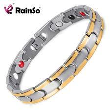 steel stainless magnetic bracelet stainless images Buy healing magnetic bracelet men woman 316l jpg