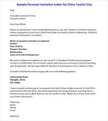13 sample invitation letters sample letters wordvisa invitation
