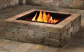 Fire Pit Insert Square by Firepit Anchor Block Company