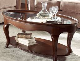 table contemporary small dark wood oval coffee table popular