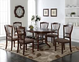new classic bixby 7pc dining table set in espresso by dining rooms