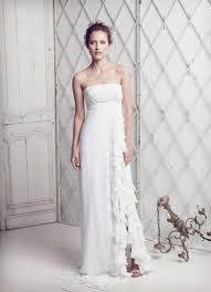 empire wedding dress 25 airy and empire waist wedding dresses weddingomania