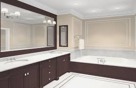 bathrooms design cool brushed nickel mirror bathroom home style