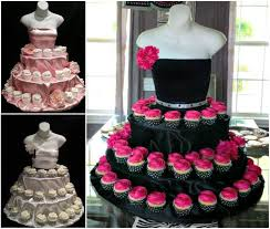 cupcake displays wonderful diy unique couture cupcake stand