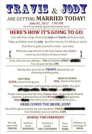 traditional wedding program wording wedding program thank you wording criolla brithday