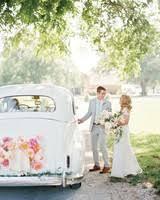 Christian Wedding Car Decorations Wedding Getaway Car Ideas For Riding Away In Style Martha