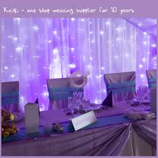 wedding backdrop size purple decorative spandex wedding backdrop draping ceiling