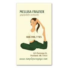 Business Cards Own Design 2156 Best Yoga Business Cards Images On Pinterest Business Cards