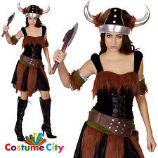 Barbarian Halloween Costume Womens Viking Costume Ebay