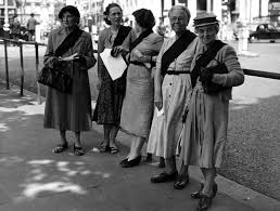 black sash file view 1950s