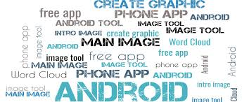 word app for android create word cloud images with a free android app for your phone