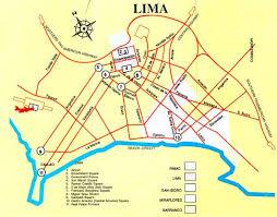 lima map lima tour lima peru discount vacation travel and holidays