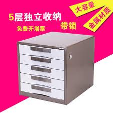 Desktop Filing Cabinet Buy Deli 9702 File Cabinets Five 5 Layers Of Metal Desktop Desktop