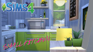 Sims 3 Kitchen Ideas The Sims 4 Compact Home Decor Kitchen Youtube