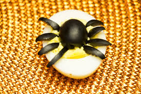 how to make spider deviled eggs for halloween diy youtube