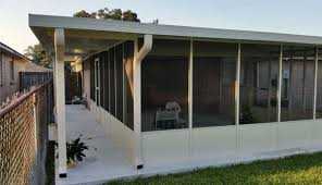 Screened In Patios Aluminum Patio Cover Contractors In New Orleans Louisiana